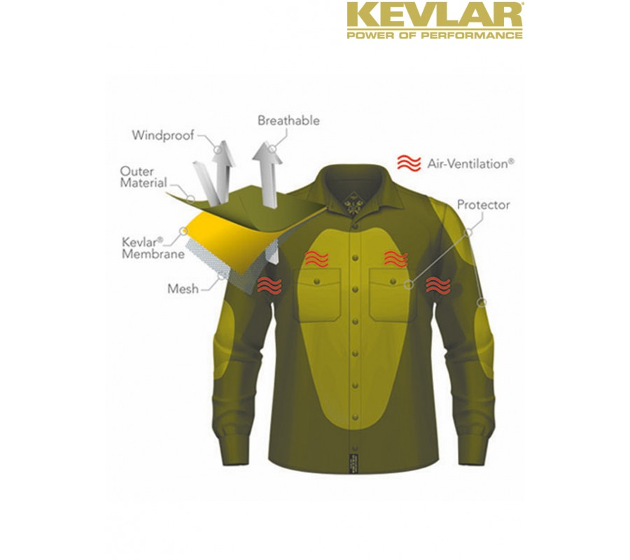 john doe lumberjack herren motorrad kevlar shirt rot kevlar hemd ebay. Black Bedroom Furniture Sets. Home Design Ideas