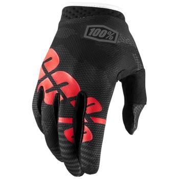 100/% ITRACK JUNIOR Motocross Kinder Handschuhe Black Camo