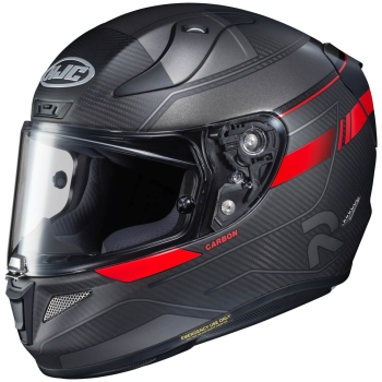 HJC RPHA 11 CARBON NAKRI Full-Face Helmet from Carbon - semi flat grey red