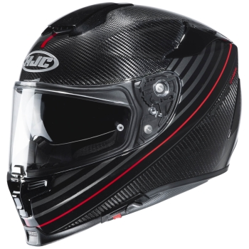 HJC RPHA 70 CARBON ARTAN Full-Face Helmet from Carbon - black red