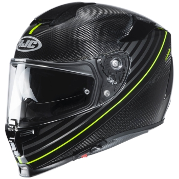 HJC RPHA 70 CARBON ARTAN Full-Face Helmet from Carbon - black fluo yellow