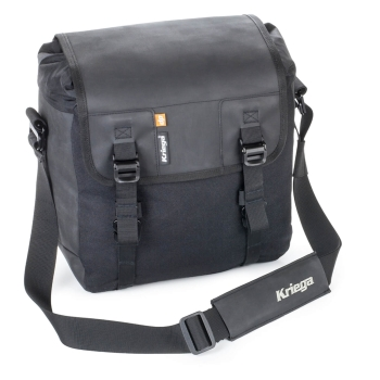 Kriega SOLO-14 Motorcycle Saddlebag 14L - black
