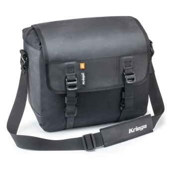 Kriega SOLO-18 Motorcycle Saddlebag 18L - black