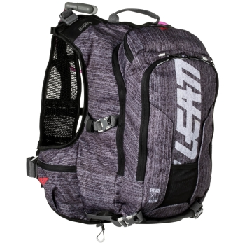 LEATT GPX XL 2.0 Hydration Pack and Back Protection - brushed