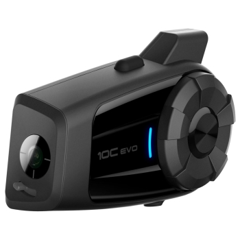 SENA 10C EVO Bluetooth® 4.1 Stereo Motorcycle Headset with Intercom and Camera