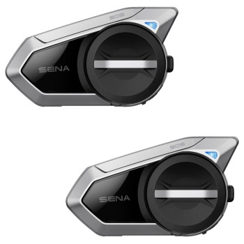 SENA 50S Bluetooth 5.0 Stereo Motorcycle Headset with Intercom - Twinpack