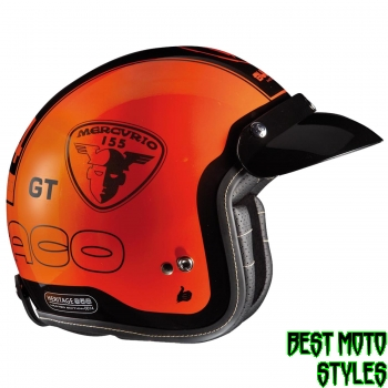 Bultaco HERITAGE MERCURIO Jethelm - orange