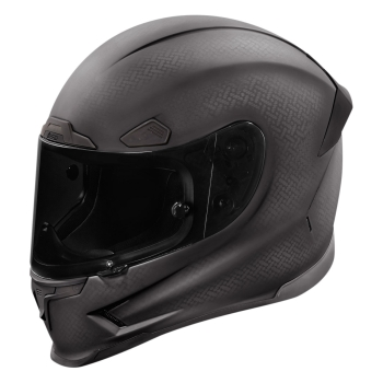 ICON AIRFRAME PRO GHOST CARBON integral helmet Motorcycle Racing - black
