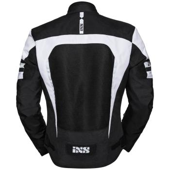 IXS Sport Levante-Air 2.0 Motorrad Textiljacke Schwarz//Wei/ß S