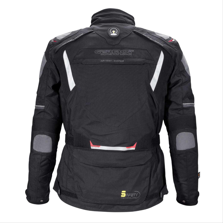 GERMOT SAFETY motorcycle jacket - black - bestmotostyles.de