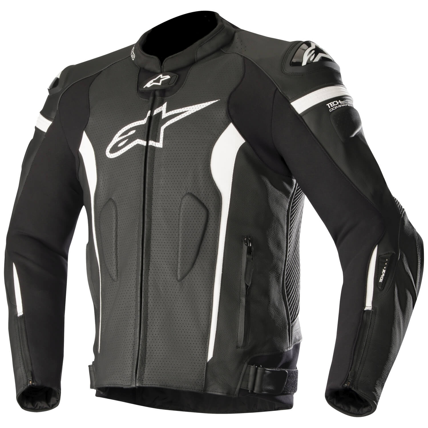 alpinestars missile herren motorradjacke leder tech air. Black Bedroom Furniture Sets. Home Design Ideas