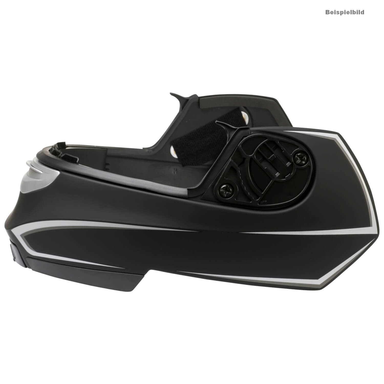 hjc is max ii mine kinnteil motorradhelm matt schwarz. Black Bedroom Furniture Sets. Home Design Ideas