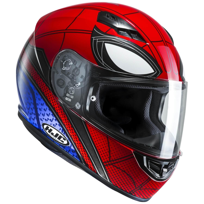 Hjc cs 15 spider man homecoming motorrad integralhelm - Spider man moto ...