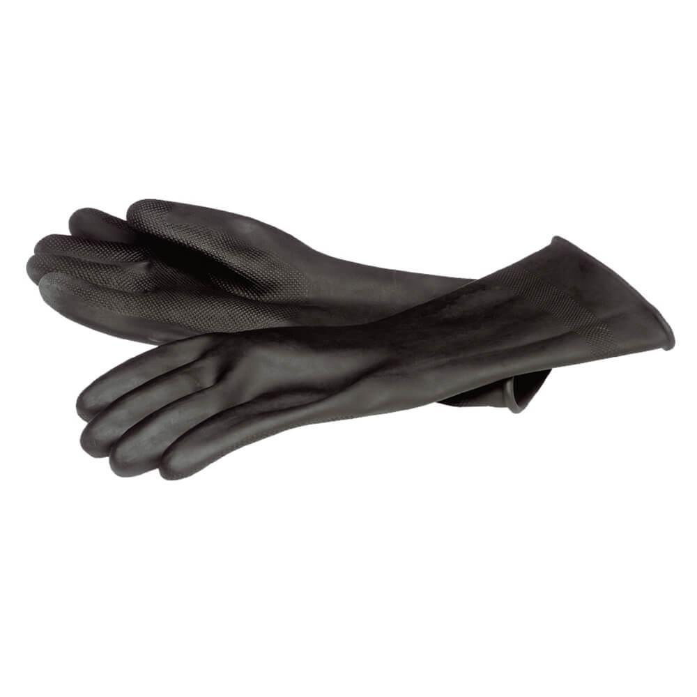 gummihandschuhe schwarz