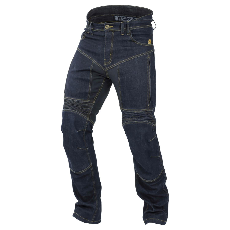 trilobite agnox herren motorrad jeans wasserdicht blau. Black Bedroom Furniture Sets. Home Design Ideas
