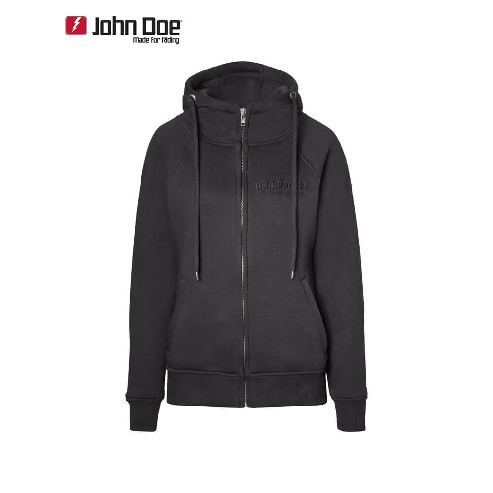 john doe kamikaze defense damen hoodie mit dupont kevlar. Black Bedroom Furniture Sets. Home Design Ideas