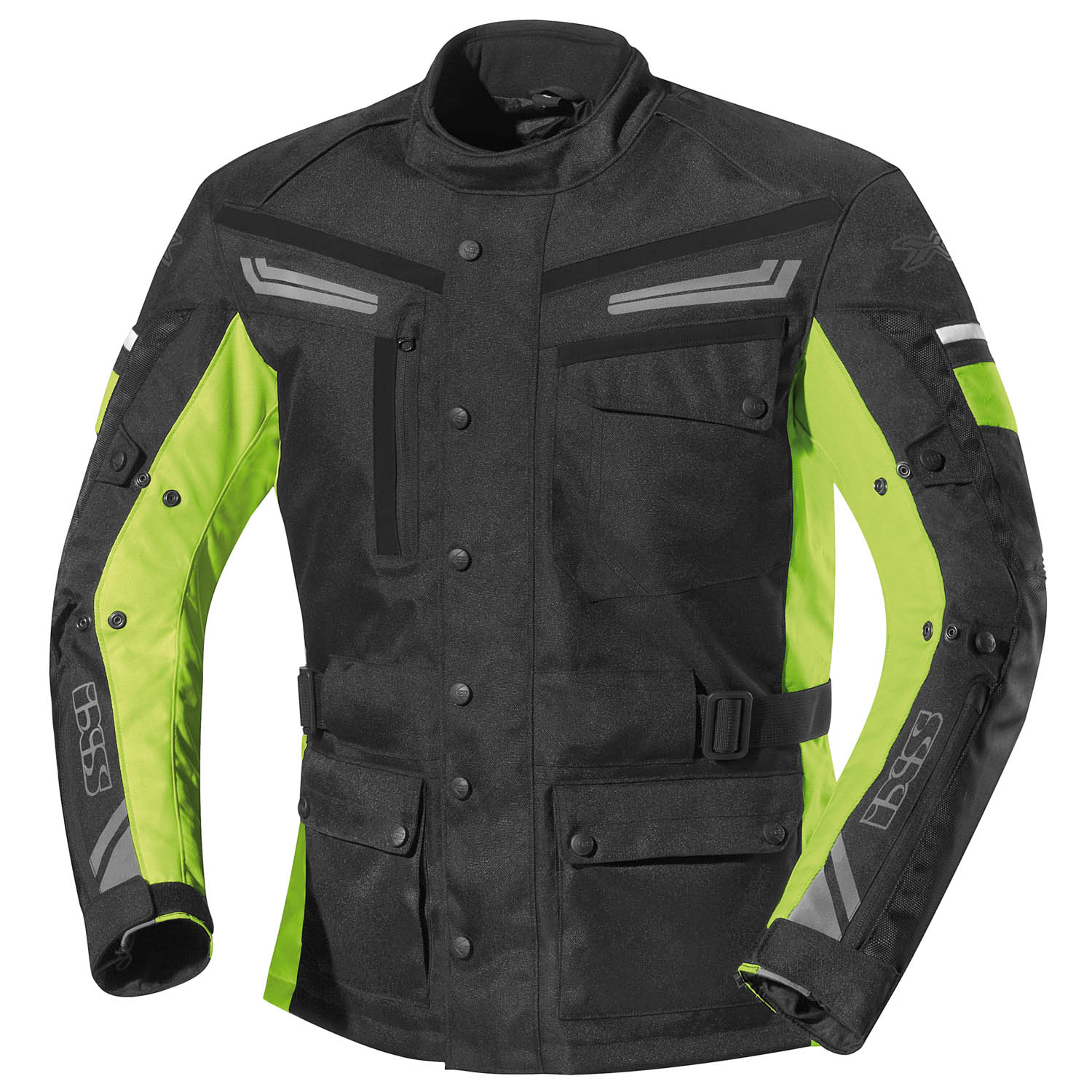 ixs evans motorradjacke herren textil all season schwarz. Black Bedroom Furniture Sets. Home Design Ideas