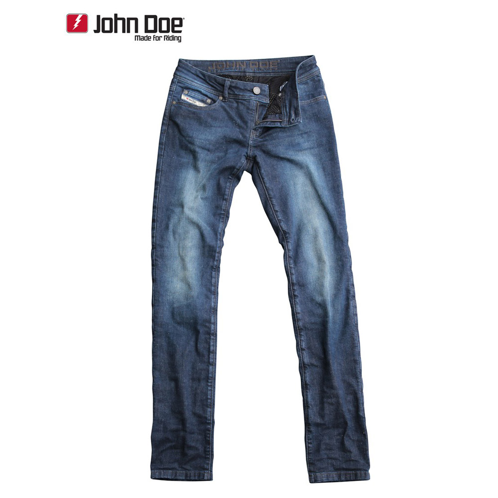john doe betty low damen jeans slim cut mit dupont kevlar faser indigo. Black Bedroom Furniture Sets. Home Design Ideas