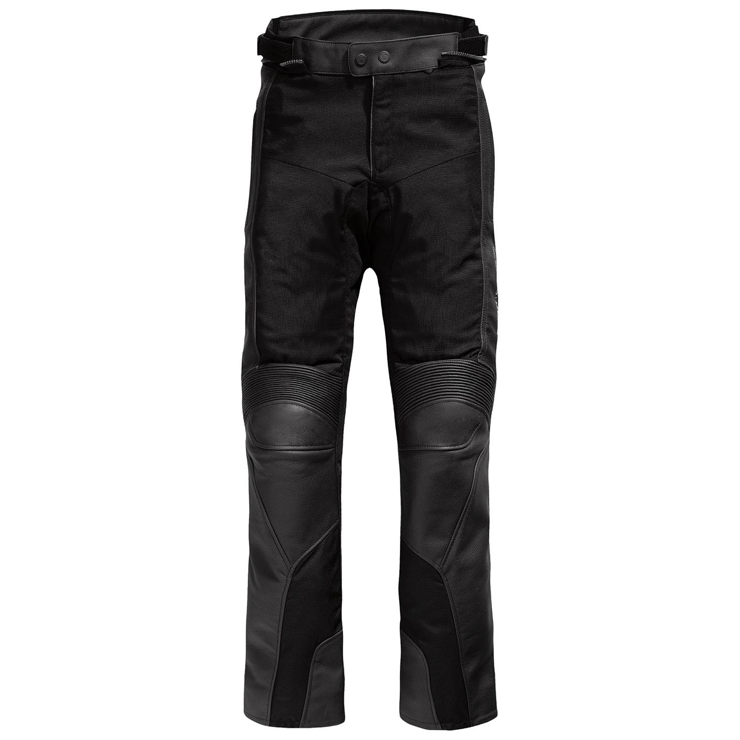 rev 39 it gear 2 herren motorrad lederhose mit mesh std kurz. Black Bedroom Furniture Sets. Home Design Ideas