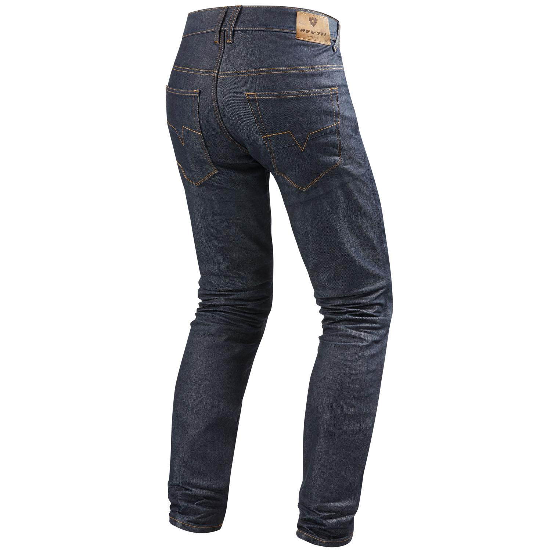 rev 39 it lombard 2 rf herren motorrad jeans std kurz lang dunkel blau. Black Bedroom Furniture Sets. Home Design Ideas