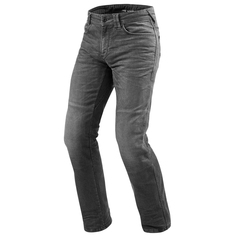 rev 39 it philly 2 lf herren motorrad jeans std kurz lang used dunkel grau. Black Bedroom Furniture Sets. Home Design Ideas
