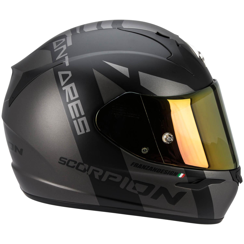 scorpion exo 410 air antares full face helmet flat black. Black Bedroom Furniture Sets. Home Design Ideas